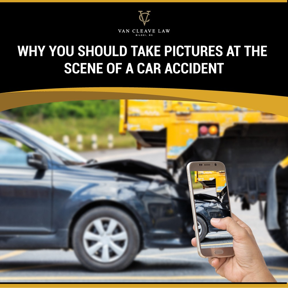 Why You Should Take Pictures at the Scene of a Car Accident