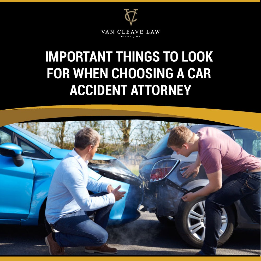 Important Things to Look for When Choosing a Car Accident Attorney